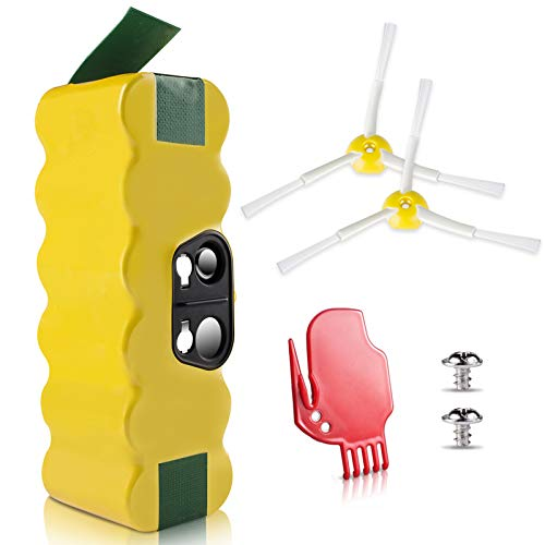 morpilot Akku für iRobot Roomba, NI-MH 4050mAh iRobot Ersatzbatterie für iRobot Roomba StaubSauger Serie 500 600 700 800 900 960 615 691 898 966 i7156