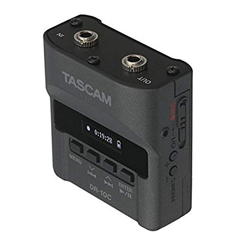Tascam DR-10C Recorders for Lavalier Microphones - For use with Sennheiser...