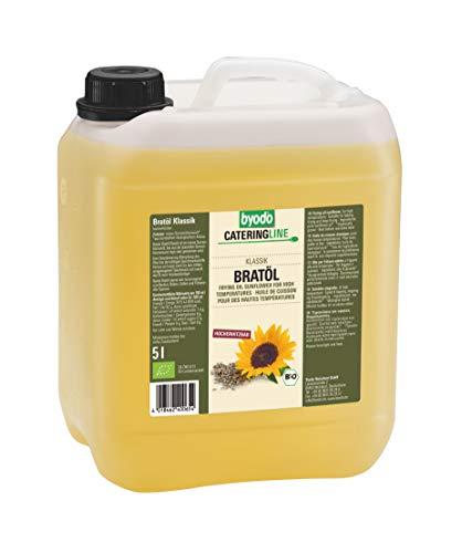 Byodo - Aceite para asar (1 bote de 5 L, ecológico)