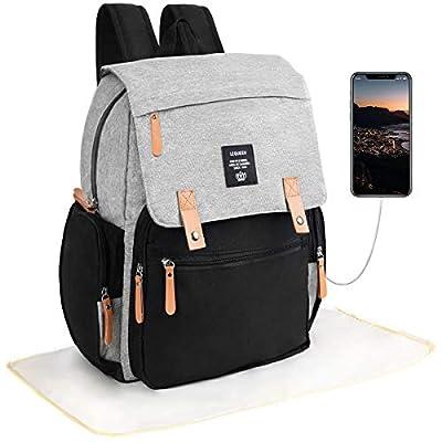 Diaper Bag Backpack,VBG VBIGER Baby Bag for Mom...