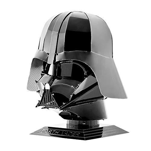 Fascinations MMS314 - Metal Earth 502775 - Star Wars Darth Vader Helmet, lasergeschnittener 3D-Konstruktionsbausatz, 2 Metallplatinen, ab 14 Jahren