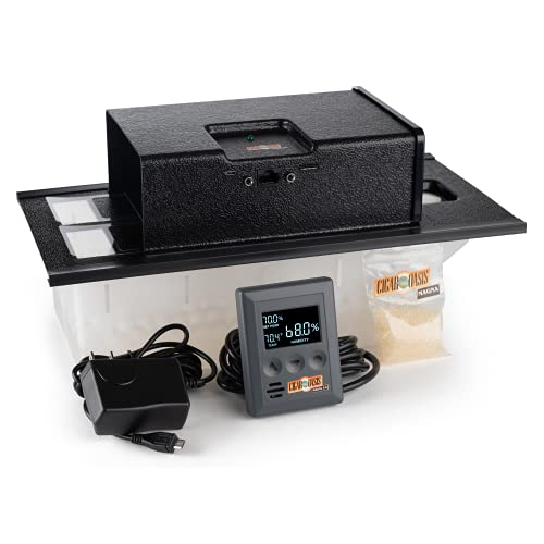 Cigar Oasis Magna 3.0 Electronic Humidifier For Cabinet, Cigar Chest, Armoire, Or Tower Humidors (10-50 Cubic Ft.)