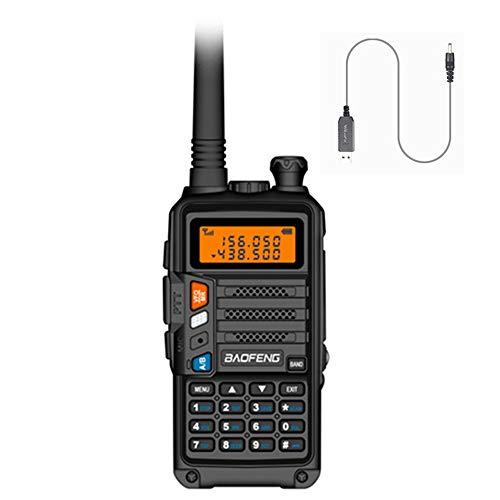 radtel UV-860 (UV-5R Newest Gen) 8 Watts Dual Band Rechargeable Long...