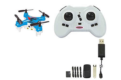 422009 MiCoSpy AHP+ Quadrocopter m. Kamera 2,4 GHz mit elektronischer Kompassfunktion, Easy Flyback, intelligente Fluglagenkontrolle