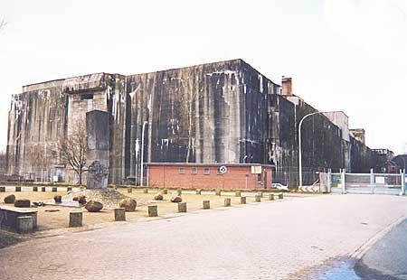 Fabrik für die Ewigkeit: Der U-Boot-Bunker in Bremen-Farge