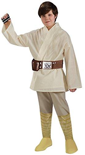 Rubies Star Wars Child's Deluxe Luke Skywalker Costume, Small