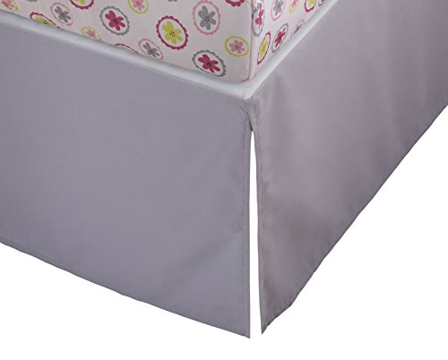 Great Deal! Storkcraft Crib Skirt, Gray