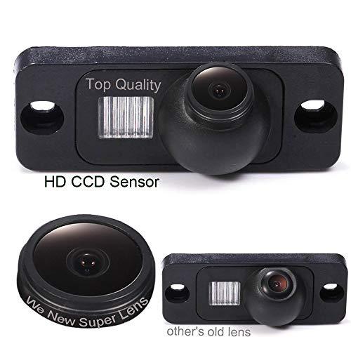 Caméra de recul 1000TV Starlight Super Pro Lens, Système de recul par capteur de recul, pour Mercedes Benz W251/M-Class Klasse W164 W163 /MB S-Class Klasse W220 S280 S320 S350 S500 S600