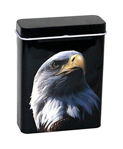 Unbekannt 27er Big Box Zigarettenetui Zigarettenbox Zigarettenaufbewahrung Zigaretten Etui Case Box Verschiedene Motive zur Auswahl Neu (Adler)