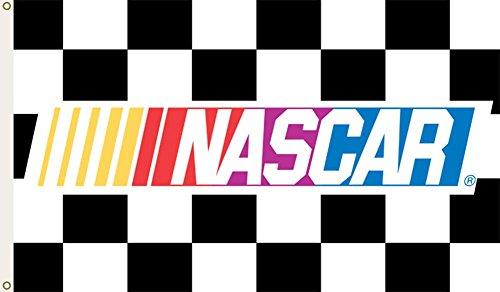 NASCAR CHECKERED 3 Ft. x 5 Ft. flag w/grommetts