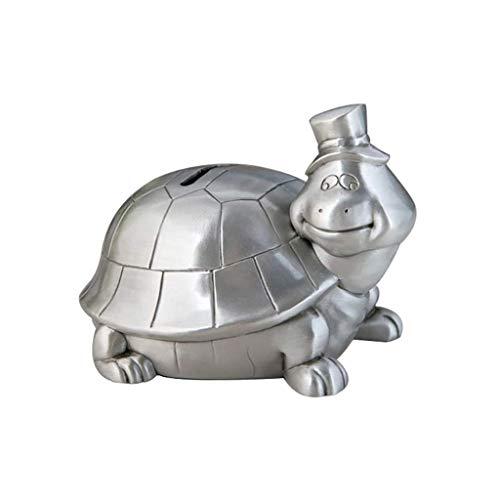 GJRFYJ Creative Pot Metal Art Decoración del hogar Regalo de cumpleaños Caja de Efectivo Caja de Dinero