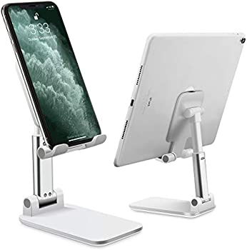 WANSHDA Cell Phone Stand Adjustable Angle Height Phone Stand