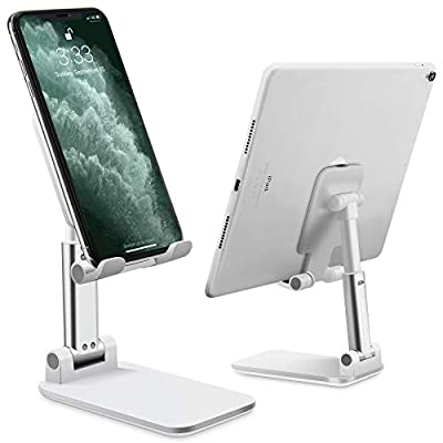 Cell Phone Stand Adjustable Angle Height Phone ...