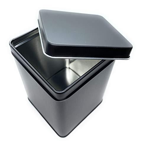 Aufbewahrungs- Metalldose - die Kaffeedose hält Kaffeebohnen/Pulver länger frisch - Vorratsdose mit Deckel - auch geeignet für Tee, Kaffeepads - 200g