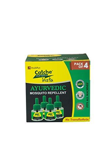 Catche Ayurvedic Formulation Insta Mosquito Repellent - 45 Ml (Pack Of 4)