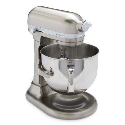 KitchenAid Pro Line KitchenAid Pro Line Nickel Stand Mixer KSM7588PNK, 7 qt, Brushed Nickel (Renewed)