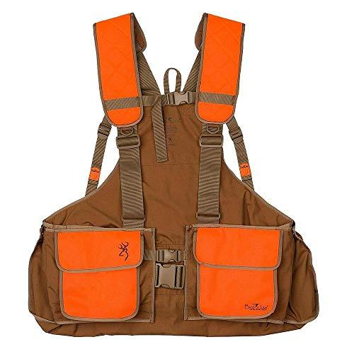 Browning Vest, Strap Bird N' Lite, 2.0 W/O Emb, Ch/Bz, M/L