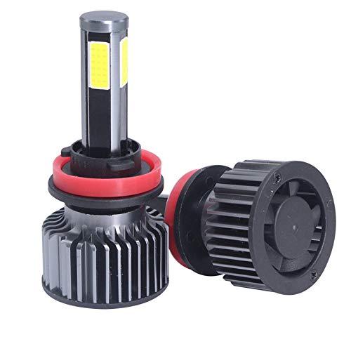 Kit ampoule phare S6LED lampe halogène de remplacement H11 ou ampoule DHI, conversion automatique haute et basse de la voiture COB 12V