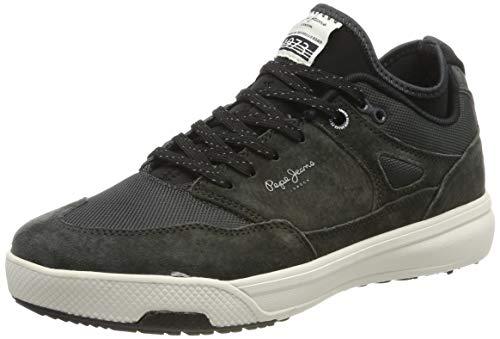 Pepe Jeans London Herren Slate PRO 01 Sneaker, Grau (Antracite 982), 45 EU