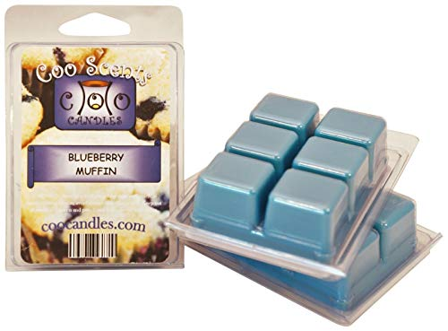 3 Pack Soy Blend Coo Candles Wickless Candle Bar Wax Melts - Blueberry Muffin (3)