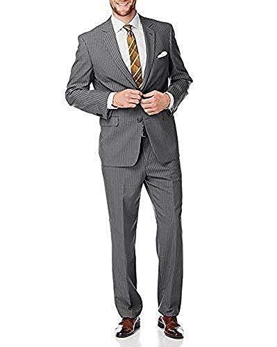 Anzug Streifenanzug von Class - Grau Gr. 56