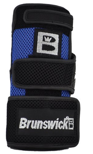 Brunswick Ulti Wrist Positioner, Handgelenkstütze Bowling schwarz Black/Royal X-Large/Left Hand