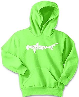 Koloa Shark Logo Youth Soft and Cozy Hoodies Size M-Neon Green