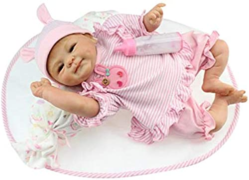 42cm Full Body Soft Silicone Vinyl Baby Doll Kids Babe Reborn Baby Doll Playmate Gift Non-Toxic Safe Toys Handmade Doll Toys