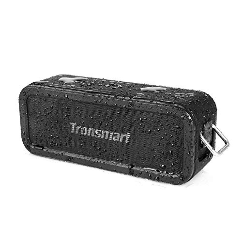 Tronsmart Cassa Bluetooth Impermeabile 40W, Altoparlante Bluetooth Senza Fili Portatile Speaker Waterproof IPX7,Effetti Tri-Bass, TWS & NFC, Tempo di Riproduzione di 15 Ore, per Smartphone, Computer