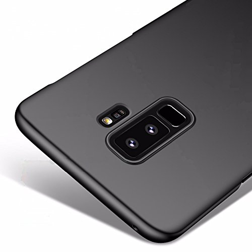 Vooway Nero Ultra Sottile Custodia Cover Case per Samsung Galaxy S9+ / S9 Plus (6.2') MS70540