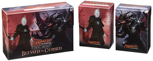 Ultra Pro 86333 - Duel Deck Box Magic, The Gathering Blessed vs Cursed