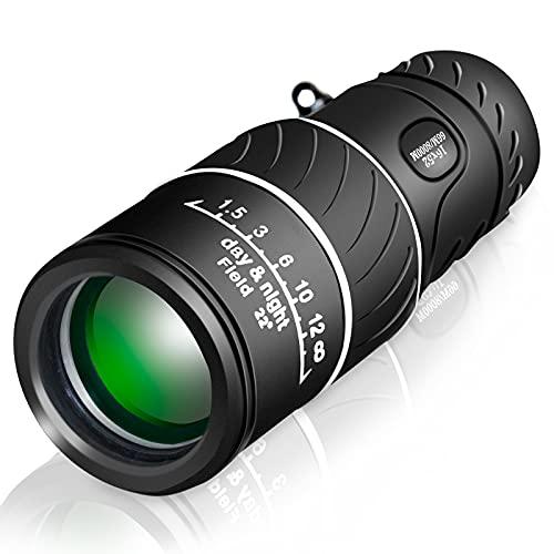 UniqueFire Comet Premium: 16x52 Monokular / Fernglas / Fernrohr / Teleskop, Linsen aus hochwertigem Glas, 66m/8000m