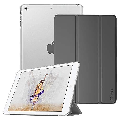 Fintie Hülle für iPad Mini 1 / iPad Mini 2 / iPad Mini 3 - Ultradünne Superleicht Schutzhülle mit transparenter Rückseite Abdeckung Cover mit Auto Schlaf/Wach Funktion, Himmelgrau