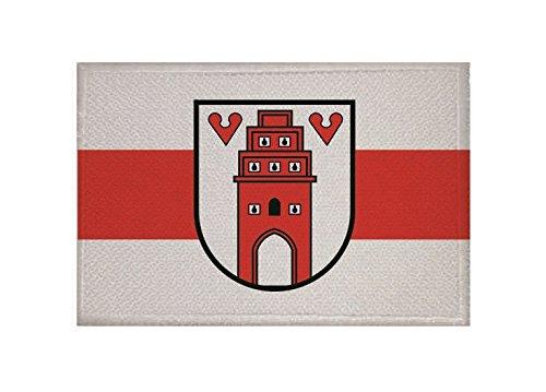 U24 Aufnäher Friesoythe mit Wappen Fahne Flagge Aufbügler Patch 9 x 6 cm