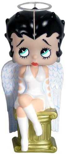Funko - Wacky Wobbler, Betty Boop: Angel cabezon, Figura de 18 cm (FUNWWBH8200)