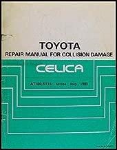 1986-1989 Toyota Celica Body Collision Repair Shop Manual Original