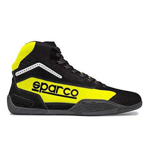 Sparco 00125941NRGF Botines para Karting, Negro/Amarillo, 41