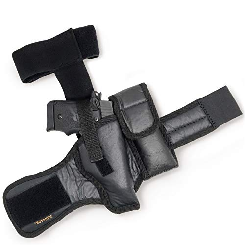 Eco Leather Ankle Gun Holster - by Houston  ...