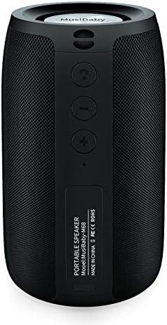 Bluetooth Speakers MusiBaby Speaker Outdoor Portable Waterproof Wireless Speakers Dual Pairing product image
