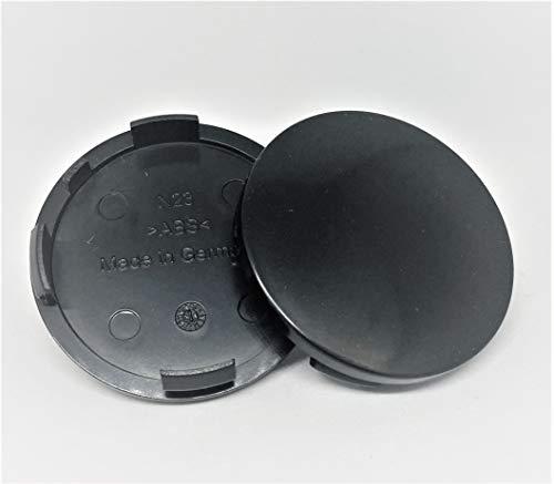 R&K N 23 - Tapacubos para llantas de 60 mm, compatibles con Rial Alutec, 4 unidades