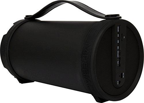 Imperial BEATSMAN Mobiler Bluetooth Lautsprecher mit UKW Radio (2.1 Lautsprecher, Bluetooth 2.1, UKW Radio, MicroSD Kartenleser) schwarz