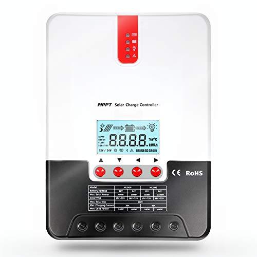 30A MPPT controlador de carga solar ML4830 carga solar 12V / 24V / 36V / 48V AutoWork con pantalla LCD para batería solar / batería de litio de carga