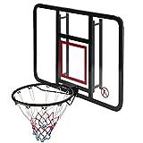 Canasta de Baloncesto Mini Aro De Baloncesto, Tablero Transparente para PC, Soporte De Entrenamiento De Baloncesto Portátil para Interiores Y Exteriores, 110x75cm