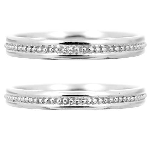 [ココカル]cococaru ペアリング プラチナ 結婚指輪 Pt900 2本セット マリッジリング 日本製 (レディースサイズ3号 メンズサイズ12号)