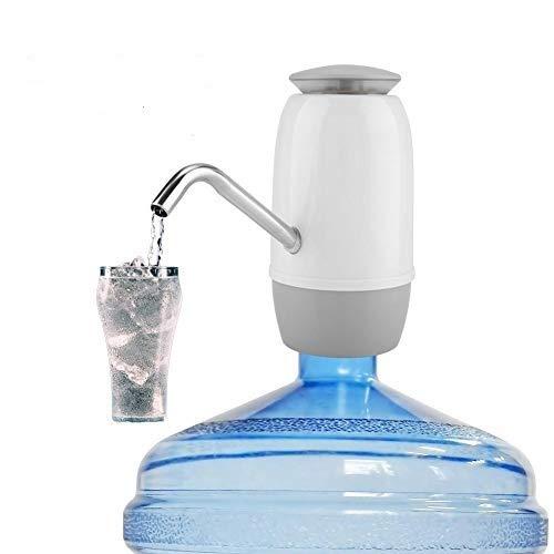 Wifehelper Draagbare USB-oplaadbaar, gevuld drinkend, dubbele waterpomp, elektrische toevoer voor buitenshuis, USB de automatische drinkwaterpomp oplaadbaar