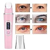 Ojo Masajeador, Ojos Labios Contorno Vibracion Masajeador Cuidado De Facial Aparatos Eliminación Ojeras Bolsas Para Los Ojos Tratamiento hinchzon Antiarrugas(02)