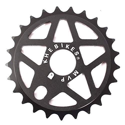 KHEbikes KHE BMX Kettenblatt 25 Zähne 7005 Aluminium matt schwarz Dicke 5mm CNC nur 56g