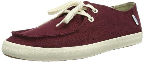 Vans M RATA VULC  PORT ROYALE/ANT - Zapatillas de lona para hombre, color Rojo (Port Royale/Antique White)