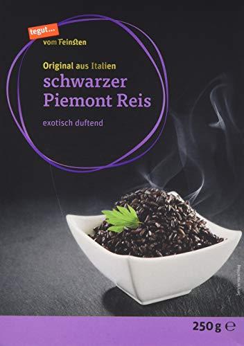 tegut... vom Feinsten Schwarzer Piemont Reis - exotisch duftend 1 x 250 g