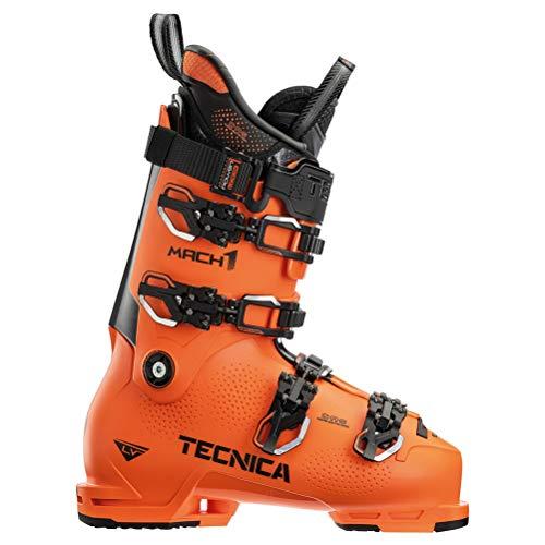 Tecnica Mach1 LV 130 Ski Boot - 2021 - Men's Ultra Orange, 24.5